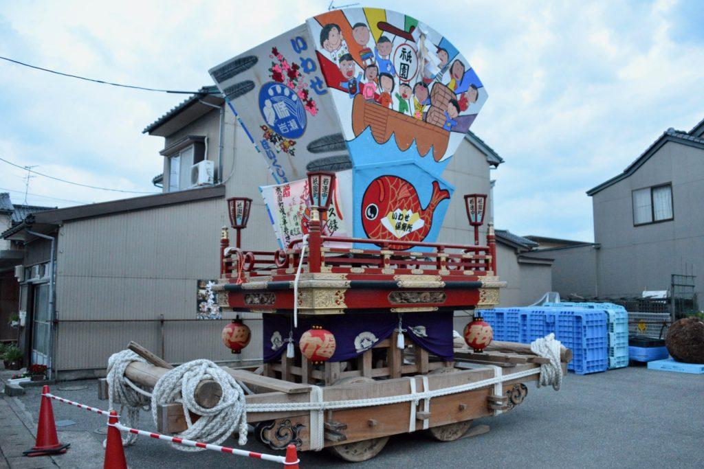 祇園町の曳山車