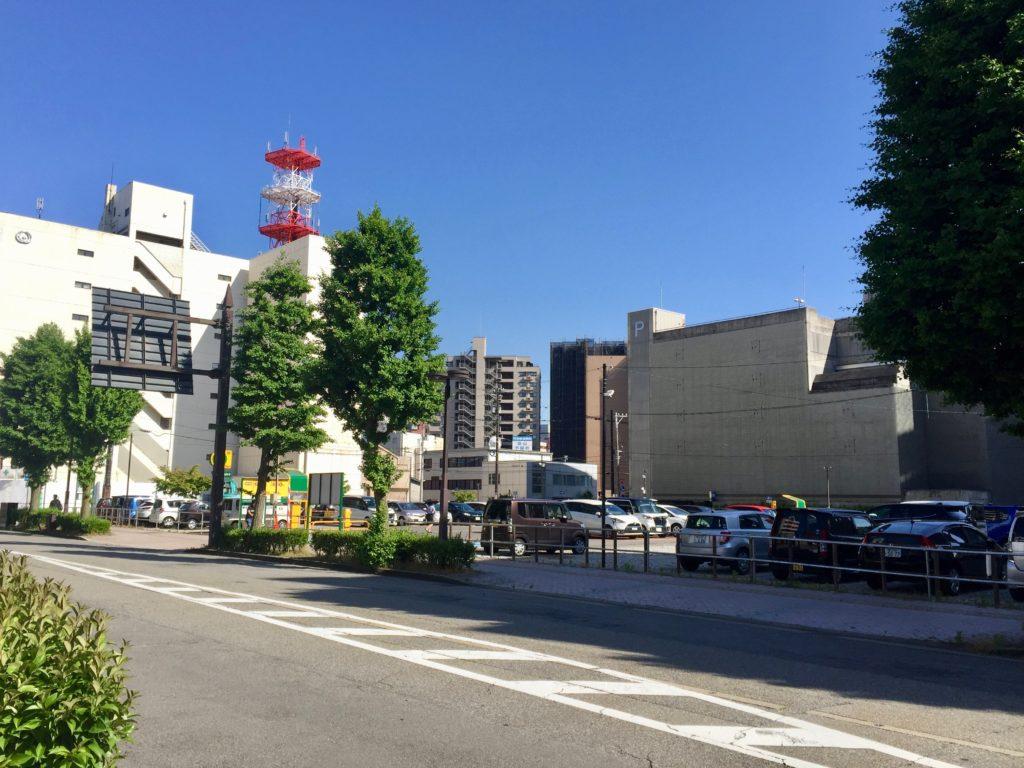 NHK富山放送会館予定地