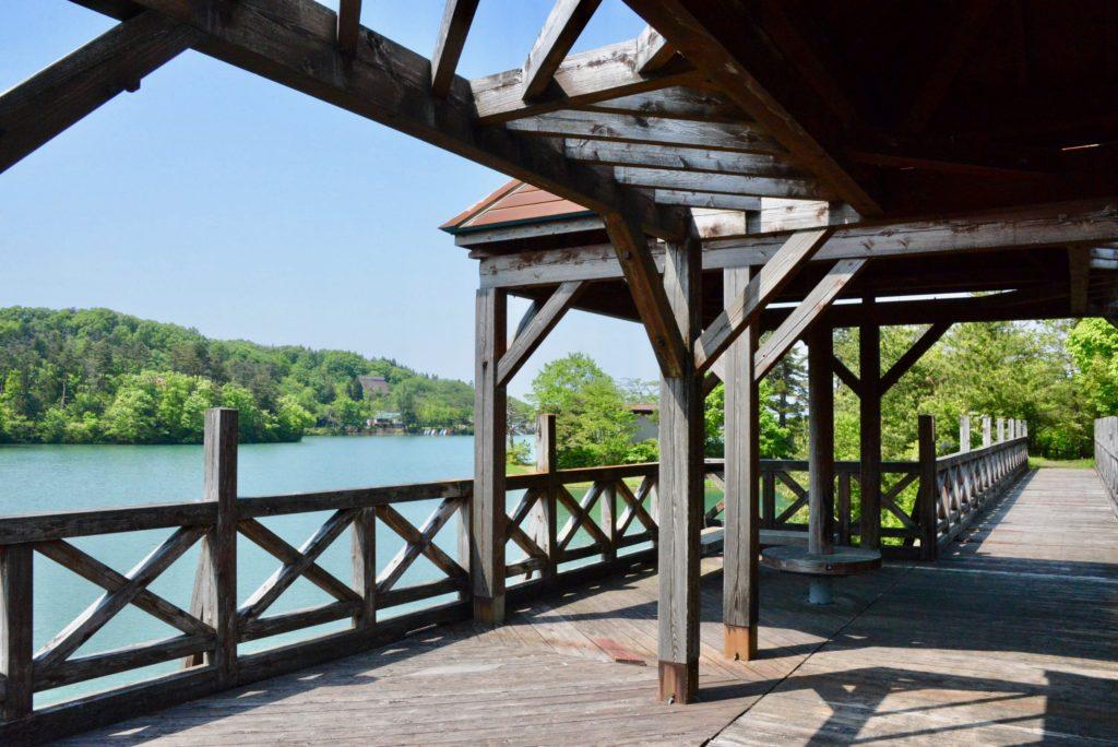 桜ヶ池出会い橋
