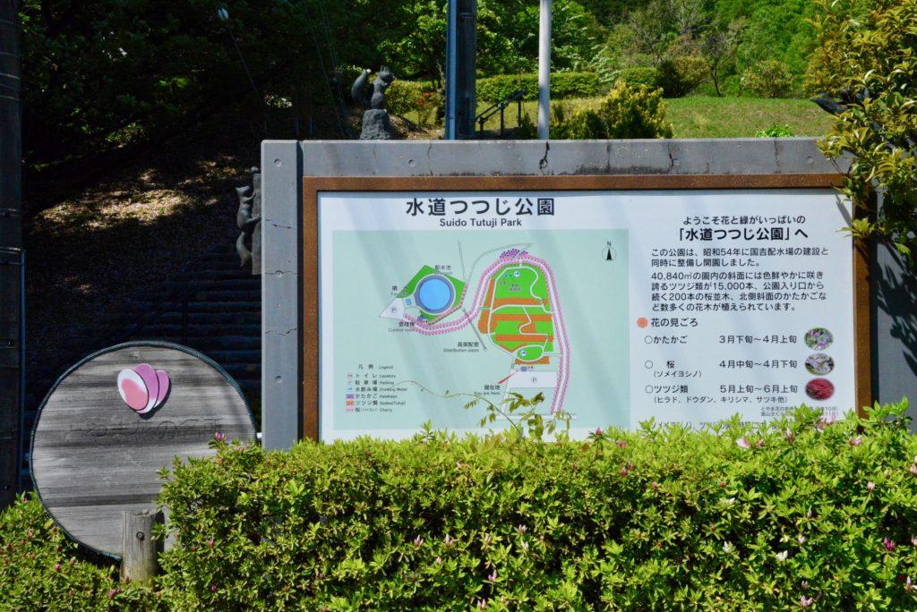 水道つつじ公園