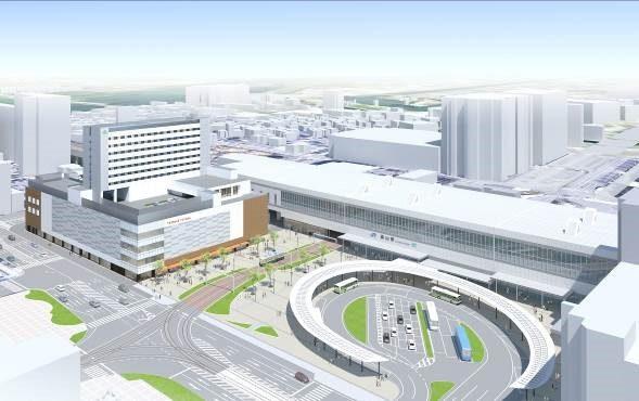 富山駅前イメージ