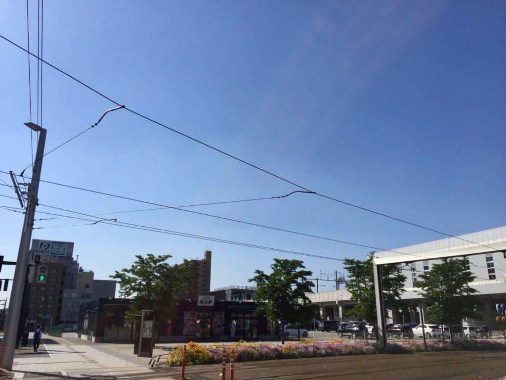 富山駅前開発予定地