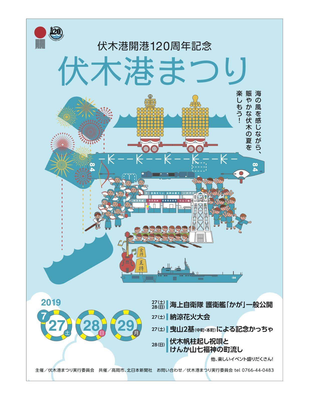 伏木港まつりポスター