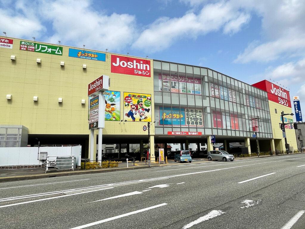 ジョーシン富山本店